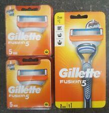 Rasoir Gillette Fusion5 + 10 Recharges (12 Recharges De Lames Au Total)