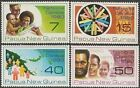 Papua New Guinea 1980 NATIONAL CENSUS (4) Unhinged Mint SG 389-92