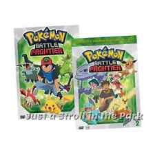 Pokemon Battle Frontier Anime Series Complete Volumes 1 & 2 DVD Box Set(s) NEW!