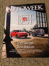 2015 Vokswagen Golf GTI, GMC Canyon, Best of the  Dec 22, 2014 AutoWeek Magazine
