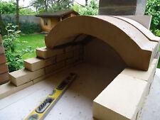 Bausatz 60x90 mit Gewölbe 54 cm Tür mit Scheibe und Thermometer