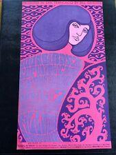 The Doors Vintage 1967 Bg Fillmore Concert Poster