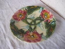 Ancienne Assiette décorative déco fleurs