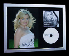 KATHERINE JENKINS+SIGNED+FRAMED+ABIDE ME+BELIEVE=100% AUTHENTIC+FAST GLOBAL SHIP