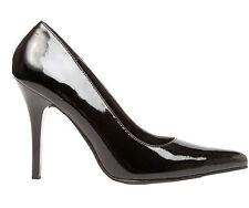 "Highest Heels 'classic' black patent Size 13  4 1/2"" heel"