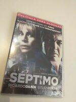 dvd   SEPTIMO CON R. DARIN Y B. RUEDA ( precintado nuevo)De VIDEOCLUB cerrado