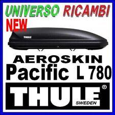 BOX TETTO PORTATUTTO AUTO THULE Pacific 780 NERO AEROSKIN 420 lt DOPPIA APERTURA