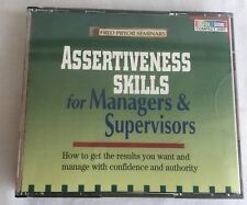 Fred Pryor seminar's assertiveness skills for managers and supervisors audiobook