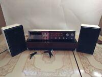 Zenith Circle of Sound Pop-Up Receiver w. Cassette & Mic  C682W1