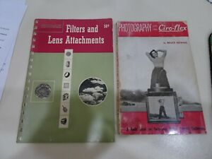 1951 Kodak Filters and Lens Attachments & Photography w/the Ciro-Flex book