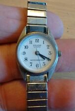 Vintage Sharp ladies wrist watch, running with new battery NR H