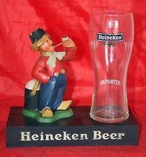 Heineken Beer Bar Figurine Display Advertising Piece