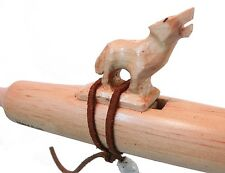 Authentic Native American Wolf Flute hand made by Jonah Thompson in key of D