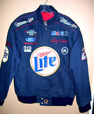 """Nascar Winston Cup Jacket 48"""" Chest Rusty Wallace Miller Lite Ford Snap-On Mobil"""