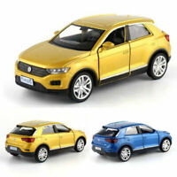 Volkswagen T-ROC SUV Off-road 1:36 Model Car Metal Diecast Toy Vehicle Kids Gift