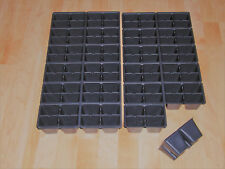 6 ea. 00006000  48 Cavity (Tray Inserts) for Seed Starting / Greenhouse Supplies