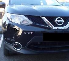 Nissan DIG-T chrome badge logo emblem Juke,Qashqai, Pulsar, Note,XTrail  DIGT