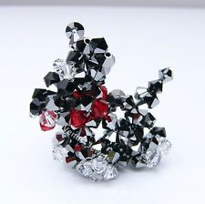 Jet Scottish Terrier Cell Phone Key Fob Purse Charm Made with Swarovski Crytals