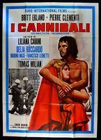 Manifesto I Kanibale B.Ekland Clementi Liliana Cavani Tomas Milian M57