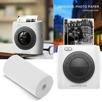 5x Roll Printing Sticker Paper Adhesive Pocket Photo Paper for Paperang Printer