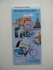 Transport for London - Barclays Cycle Hire - leaflet