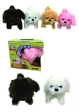 Toy Puppy – Battery Operated Walking & Tail Wagging Plush Dog - Colors May Vary