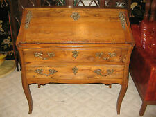 Antique French 1700's Fall Front Writing Desk Secretary