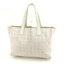 Auth CHANEL Tote Bag Travel Line Ladies used P 500