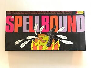 SpellBound Board Game - 1988 Jigsaw Factory Spelling educational game