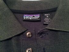 PATAGONIA Premium Quality Dual Color Hue Green Blue Long Sleeve Polo Pullover