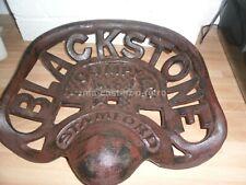 Cast Iron Blackstone Tractor Seat