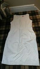 phase eight white shift dress size 16