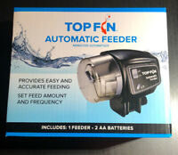 Top Fin Automatic Fish FeederBrand New in Box Includes Batteries