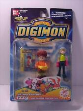 DIGIMON IZZY ACTION FIGURE BAN-DAI # 3930     ORIG. PACK.