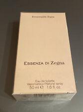 Ermenegildo Zegna Essenza Di Zegna Eau De Toilette 50ml Parfum NEW SEALED