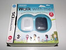 Walk With Me! Nintendo DS game + 2 Activity Meters NEW & BOXED