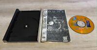 Dune Sega CD Game and half box - printed manual - mint cd - us seller