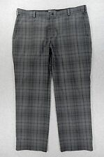 Nike TOUR PERFORMANCE Dri Fit Flat Front Golf Pants (Mens 40x32) Grey