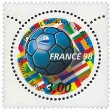 10 Timbres neufs  -  Coupe du monde de foot 1998