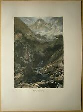 1884 print MOUNT OF THE HOLY CROSS, ROCKY MOUNTAINS, COLORADO (#55)