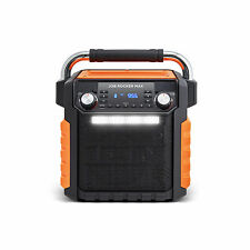 Brand new ION Audio Job Rocker Max Black Orange iPA81OR 50W IPX4 IPX4 waterproof