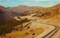 Postcard Loveland Pass Colorado CO Switchbacks US Highway 6