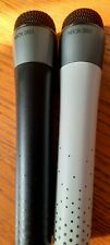 Microsoft Xbox 360 Wireless Microphones x2 (Black & White)