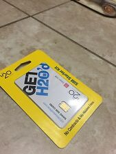H2O Wireless Prepaid Nano Sim Card with Pay as you go $10(Read Description)