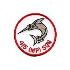 RCAF CAF Canadian 415 MP Squadron Colour Crest Patch