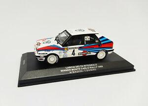 IXO 1:43 - SCR002 Lancia Delta Integrale Winner Monte Carlo Rally 1989 Biasion