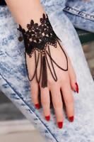Sahmeran Armband Orient Mode Schmuck Farbe Schwarz