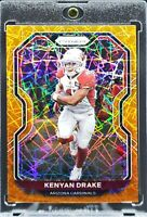 2020 Prizm Kenyan Drake Orange Lazer Prizm Cardinals, Raiders Great Card!!