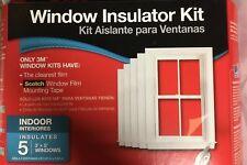 3M Window Insulator Kit- 5 Windows
