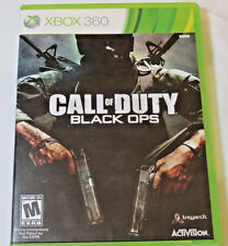Call of Duty: Black Ops (Microsoft Xbox 360, 2010) Video Game very good conditio